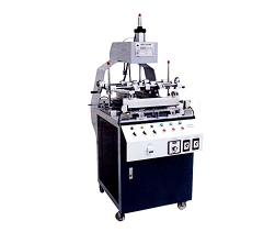 Three edge folding machine